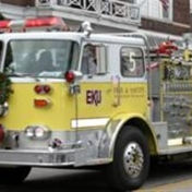 Engine 5 is used for parades as a public relations tool for the College of Justice and Safety here at EKU and also as a way to p